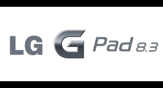 LG、新型タブレット「G Pad 8.3」のティザー動画を公開