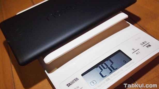 新型Nexus 7 (2013)、初代との比較01 「タニタで重量を測定する」