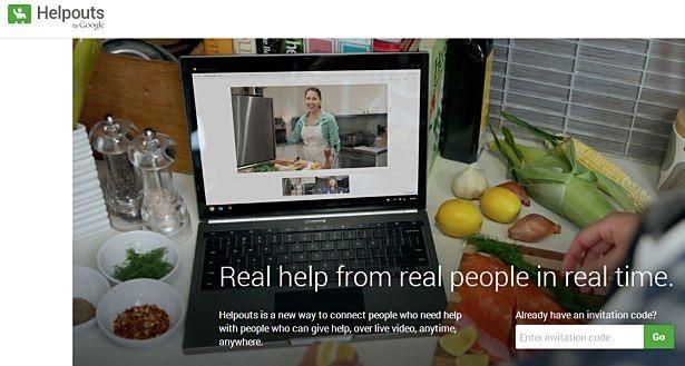 Google、ライブチャットでヘルプサービス『Helpouts』発表、提供者募集中
