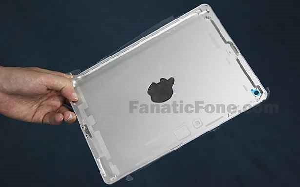 第5世代 iPad の背面パネル画像がリーク、幅狭く iPad mini 風に
