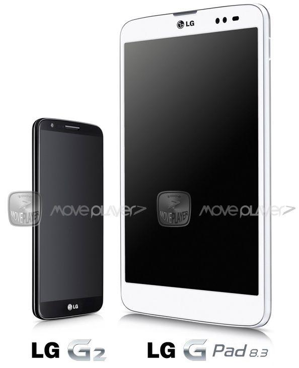 8.3インチ/Snapdragon 600搭載「LG G Pad 8.3」、ベゼルレスなプレス画像がリーク