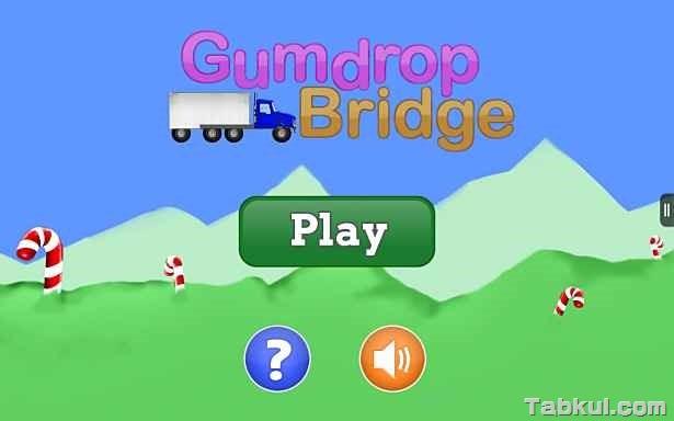 価格 99円、橋を建設する物理ゲーム「Gumdrop Bridge (Ad-Free)」の試用レビュー