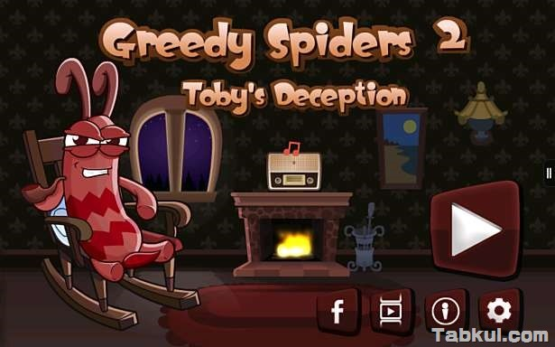 価格 99円、クモから昆虫を守るパズルゲーム「Greedy Spiders 2」の試用レビュー