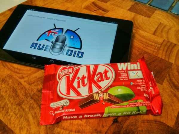 Android KitKat(菓子)、オーストラリアで先行発売か