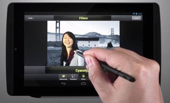 Tegra4/7インチ/筆圧感知『Fly One Tegra Note 7』の紹介動画