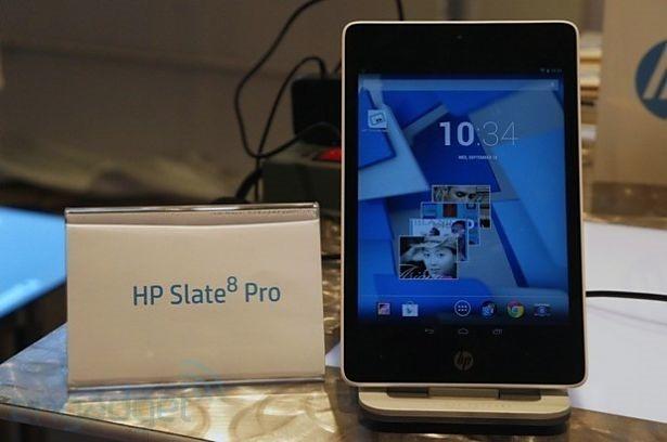 『HP Slate8 Pro』のハンズオン動画