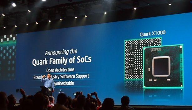 Intel、超小型半導体『Quark』を発表―ウェアラブルデバイス向け