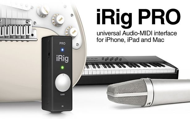 iOS/Mac対応オーディオインターフェイス『iRig PRO』発表、機能と価格