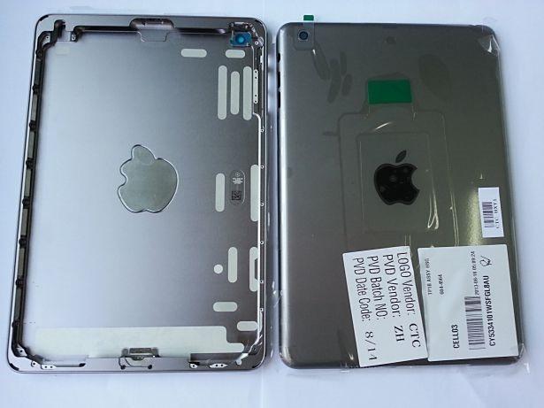 未発表『iPad mini 2』のスペースグレイ(筐体)がリークか