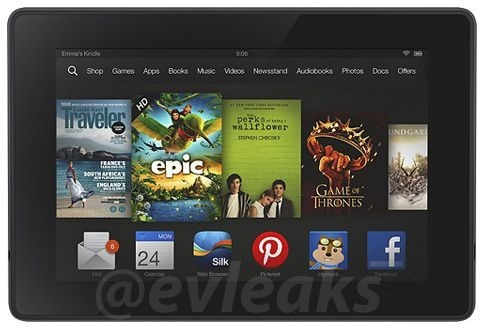 Amazon、新型『Kindle Fire HDX』を明日発表か