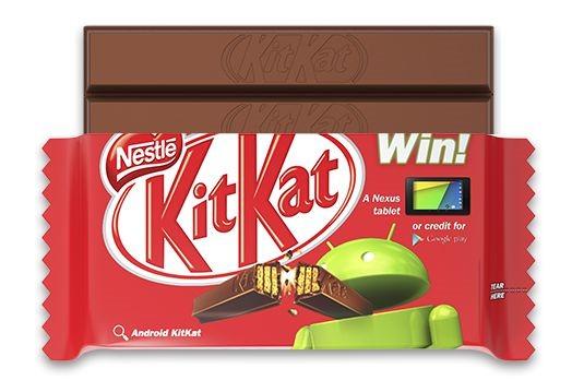 Googleとネスレ、『Android 4.4 KitKat』記念コラボへ