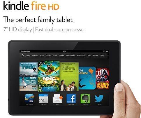 リフレッシュ版『Kindle Fire HD』とは何か、スペック表で新旧モデル比較