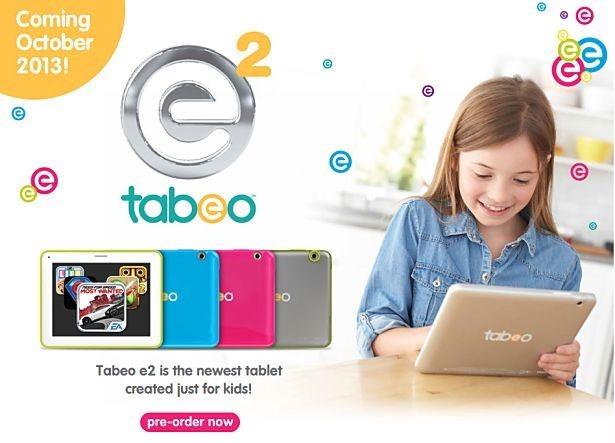 米トイザらス、新しいキッズタブレット『Tabeo E2』発表―価格やスペックほか