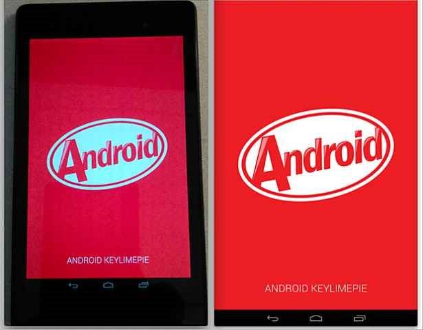 『Android4.4 KitKat』のスクリーンショットがリーク―Nexus 7 (2013) 上で動作