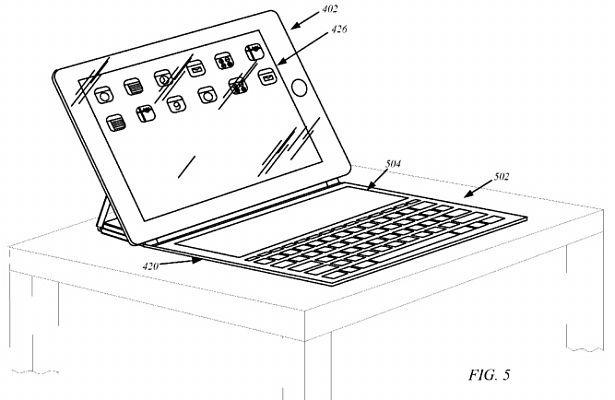 iPad向けにキーボード付きカバーを開発中という噂ーSurfaceタッチカバー風