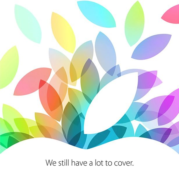 Apple、新型iPad発表イベント10/22開催と発表