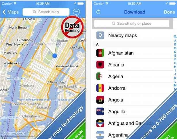 オフライン対応、世界中で使える地図アプリ『City Maps 2Go』が無料配信中―iOS