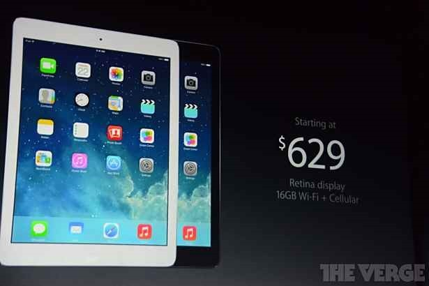 SoftBank、『iPad Air』は11月1日~『iPad mini Retina』は11月中に発売へ