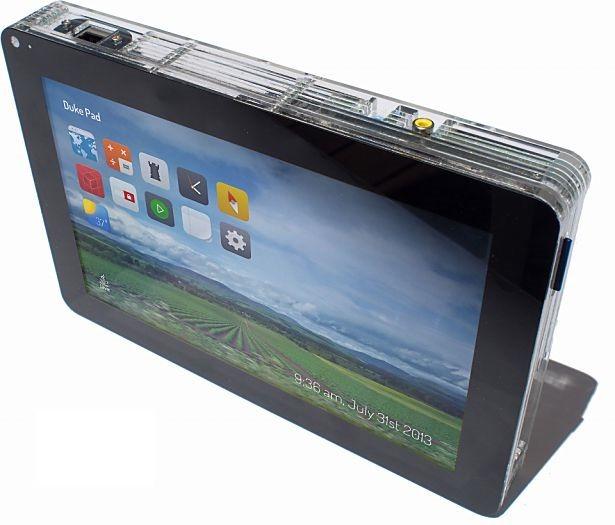 オラクル、手作りタブレット「DukePad」発表!Raspberry Pi内蔵で370ドル