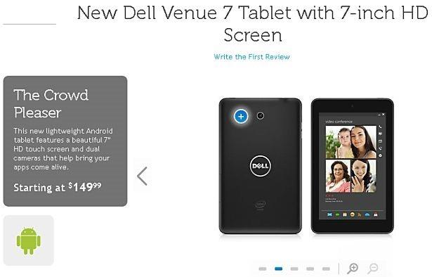 米DELL、Androidタブレット『Venue 7』『Venue 8』を販売開始ースペックや価格、提供アプリなど