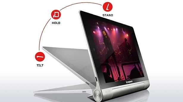 Lenovo、可変スタンド搭載の8インチAndroidタブレット『YOGA TABLET 8』発表―スペック表と外観