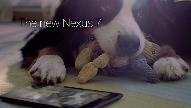 Google、新型Nexus 7 のCM動画を2つ公開