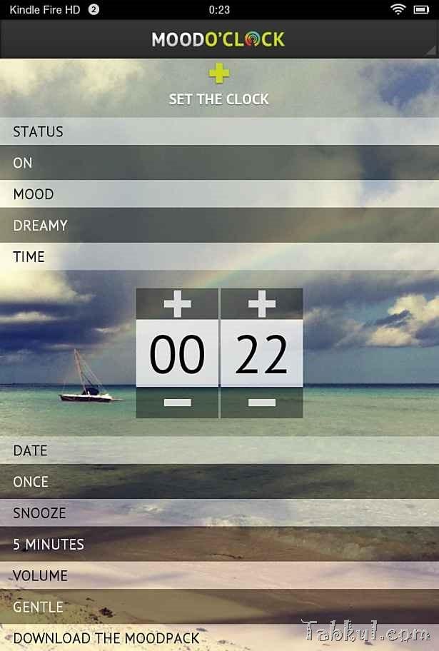 価格 99円、目覚ましアプリ「Mood O'Clock Alarm」の試用レビュー