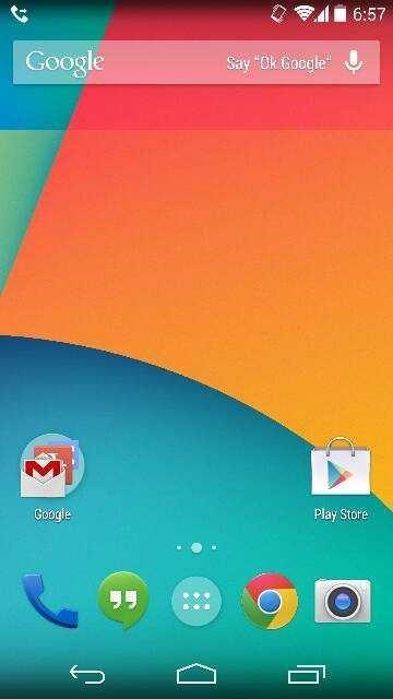 『Android 4.4 KitKat』のスクリーンショットが流出