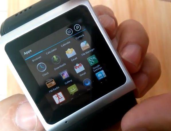 『Goophone Smart Watch』のハンズオン動画