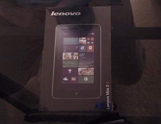 早くも『Lenovo IdeaTab Miix 2』の開封動画レビューが公開される