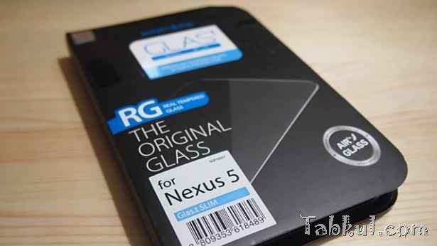 Nexus 5向け強化ガラス液晶保護フィルム『シュタインハイル GLAS.t』到着、開封レビュー