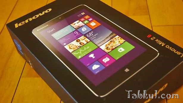 Lenovo Miix2 購入、開封レビュー(個人輸入品)