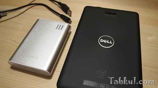 Venue 8 Pro 購入レビュー04―モバイルバッテリーで充電できるか