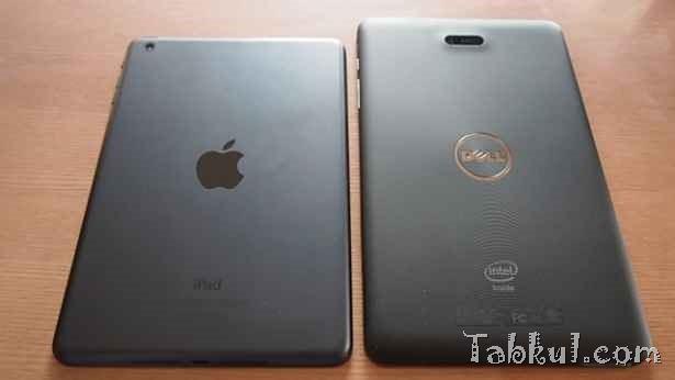 Venue 8 Pro 購入レビュー09―iPad miniとのサイズ/画面の明るさ比較