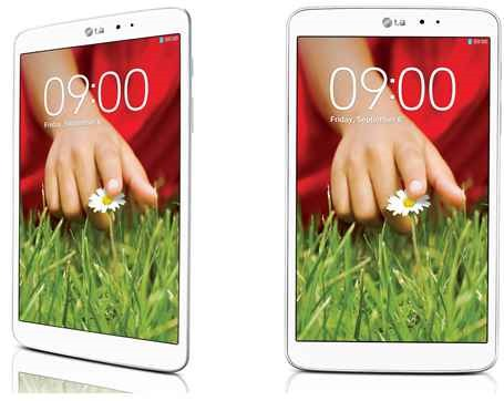 LG、338g/8.3インチ「LG G Pad 8.3」発表―11月30日発売へ
