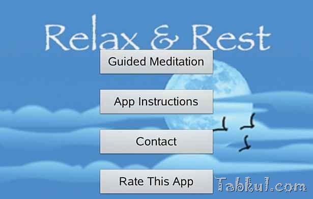 価格 85円、瞑想アプリ「Relax and Rest Meditations」の試用レビュー