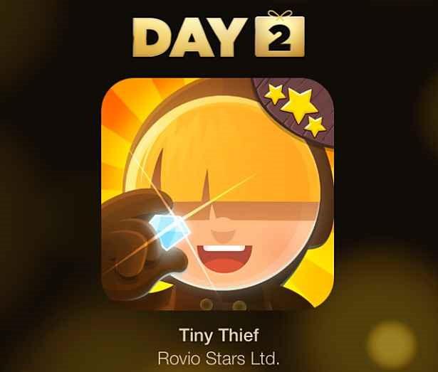 Apple『12 DAYS プレゼント』2日目:アプリ/Tiny Thief