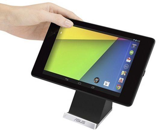 ASUS、Nexus 7 (2013)向け「ワイヤレス充電スタンド」と「ミラキャスト ドングル」を発売へ