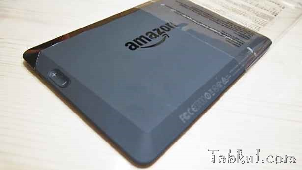 Kindle Fire HDX 7 購入レビュー02―初期セットアップ編
