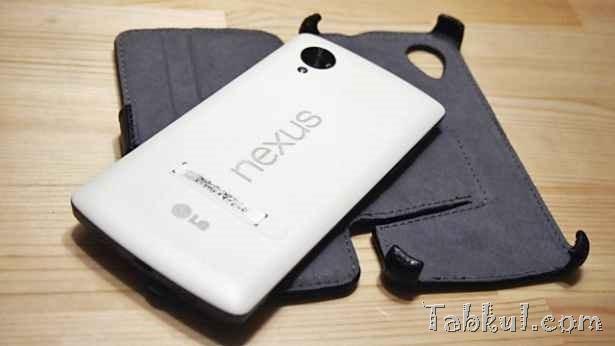 Nexus 5 専用ケース「MiniSuit」購入、開封レビュー(Qi充電やスタンド、重さチェック)