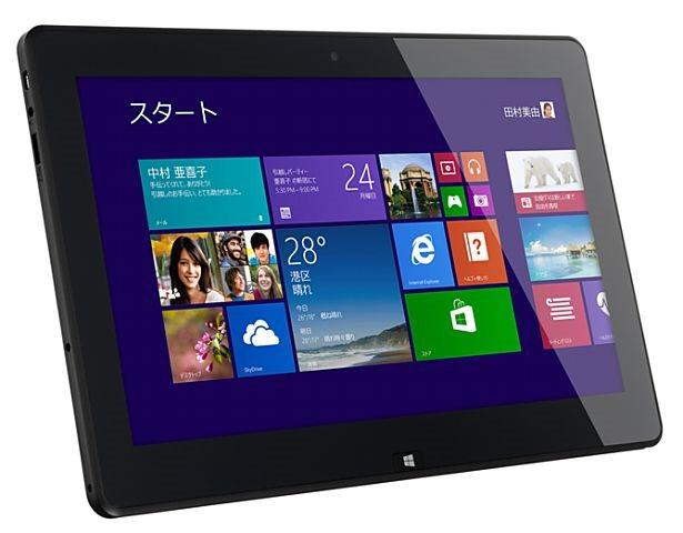 エプソン、Windowsタブレット『Endeavor TN10E』発表―スペックと価格