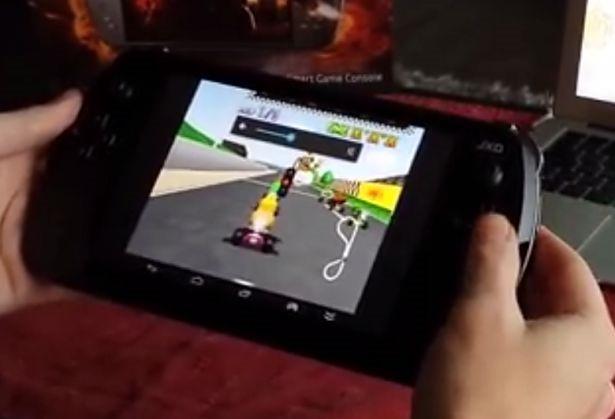 もはやゲーム機、中華パッド『金星JXD S7800b』の動画とスペック―Androidタブレット