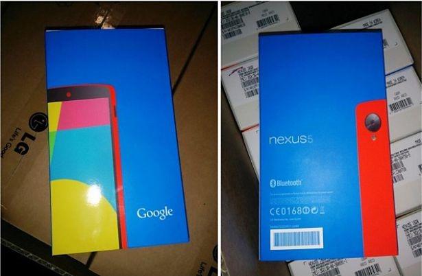 『Nexus 5』の「レッドカラー」画像がリーク