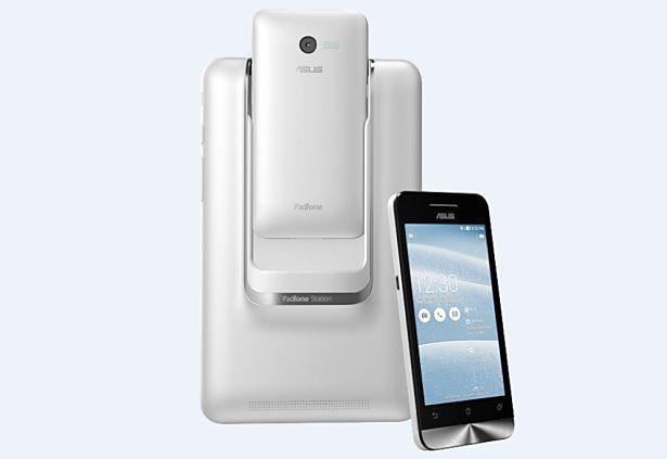 ASUS、デュアルSIM/4+7インチ合体タブレット『PadFone mini』発表―スペックと価格