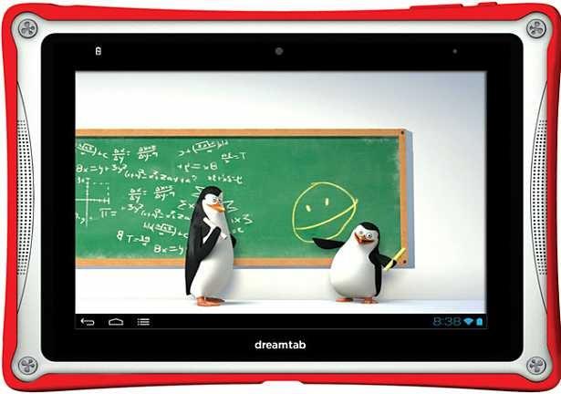 DreamWorks、子供向けタブレット『DreamTab』を今春300ドル以下で発売予定(Android)