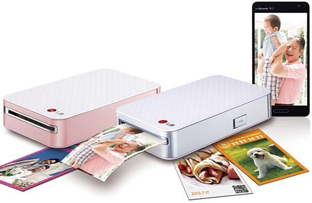 LG、モバイルフォトプリンター『Pocket photo PD239』発表―価格や発売日