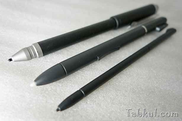 格安デジタイザペン購入、開封レビュー―VivoTab Note 8標準ペンとワコムCS300UKと外観比較