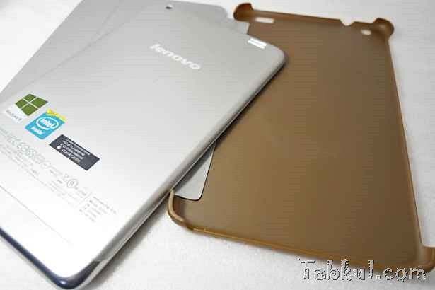wisers Lenovo IdeaPad Miix2 8保護ケース購入、開封~装着レビュー