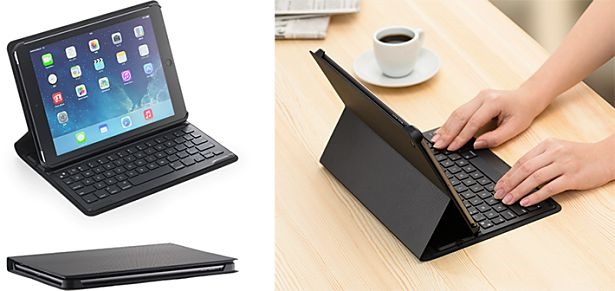 Extra Slim Keyboard-Case for iPad Air