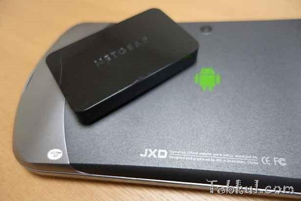 金星JXD S7800b と「NETGEAR PTV3000」でワイヤレスディスプレイを試す